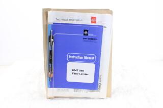 EMT 260 Filter Limiter Instruction Manual + Technical Information EV-F-5900