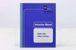 260 Filter Limiter Manual (No.2) F-7833-x