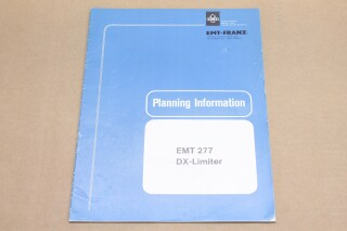 277 DX-Limiter Planning Information F/986-BV