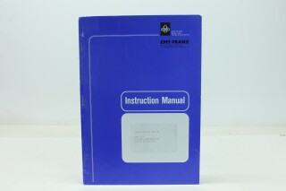 401 - Audio Stopwatch - Operating Manual with Schematics F-9038-x