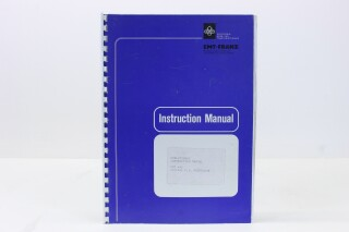 442 Digital P.A. Processor - Instruction Manual F-7912-x