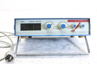 555A pH & mV meter with Nixie tubes HEN-ZV-15-6145 NEW