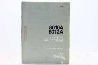 8010A 8012A Digital Multimeter Instruction Manual EV-F-5361 NEW