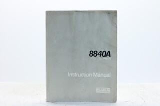8840A Multimeter Instruction Manual EV-F-5356 NEW