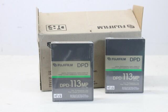 DPD-113MP - Digital Professional Audio Cassette Box of 9 EV H-14106-BV