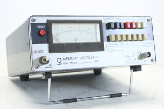 MTA Memory Voltmeter 1000V AC/DC HEN-M-4440 NEW