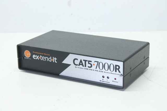 CAT5-7000R - 2xVideo, USB, PS/2, RS-232, Audio Receiver BVH2 S-12111-bv