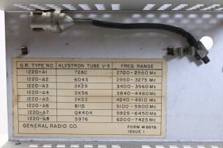 Klystron Oscillator Type 1220-A HEN-R-4400 NEW 5