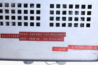Klystron Oscillator Type 1220-A HEN-R-4400 NEW 10