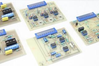 Girardin C206 - PCB/Card Rack/Module with 3x TE 122 and 1 TE 94 Trafo's G-10978-z 9