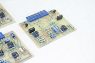 Girardin C206 - PCB/Card Rack/Module with 3x TE 122 and 1 TE 94 Trafo's G-10978-z 10