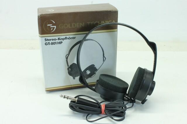 GT-801 HP Stereo Headphone (No.1) E-9536-x