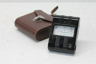 Candela 6.62-643 Light Exposure Meter in Leather Case KAY B-10-13710-bv