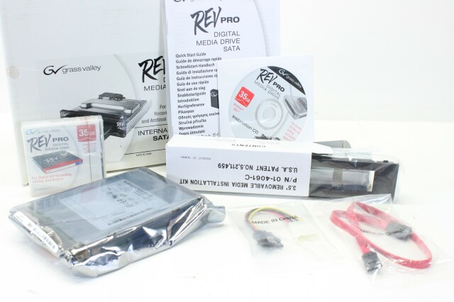 Rev Pro Digital Media Drive with 1 35gb Disk (No.2) S-9924-z