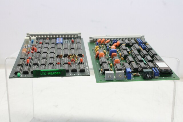 2x Pcb - 104501-05 Character Insertion - LTC Reader KAY K13-14170-BV