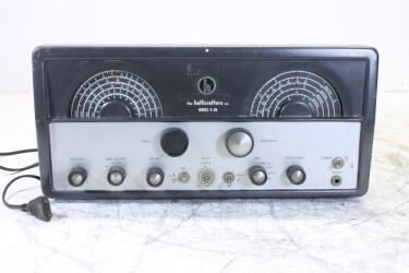TubeHF Radio receiver model S-86 HEN-OR12-6373 NEW