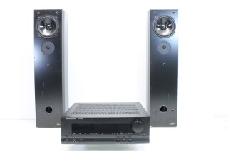 Amplifier With Allure 11 Speakers Set EV-VLL-5520 NEW