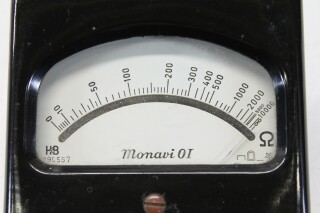 Monavi 01 - Small Ohmmeter in Leather Case KAY A-9-13542-bv 4