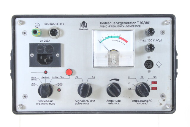 Tonfrequenzgenerator T16/801 HEN-N-4374 NEW