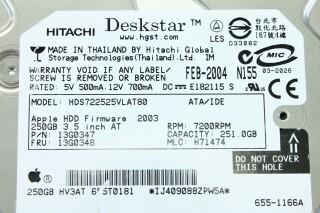 Deskstar 250GB Apple Hard Disk Drive (No.3) S-9624-x 5