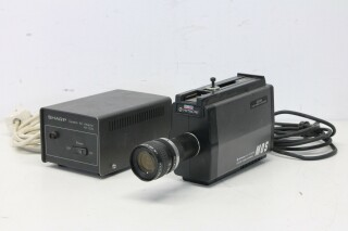 VK-C2000E Color Video Camera with Sharp AA-122G Camera AA Adaptor KAY L-13201-bv