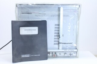 Omnigraphic 2000 Recorder With Manual And Dust Cover T-11963-BV