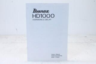 HD1000 Harmonics/Delay Owner's Manual EV-F-4843 NEW