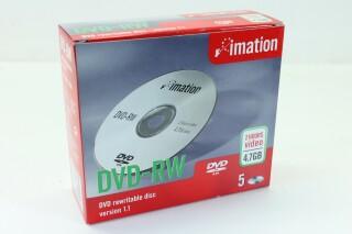 4.7 GB DVD-RW - Box of 5 pieces S-9463-x