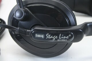 BH-006S - Headset with Bantam TT plug BVH2 A-8-11734-bv 3