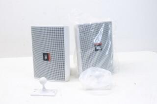 Control 23T White Speaker set New in Box EV SK-3454 NEW