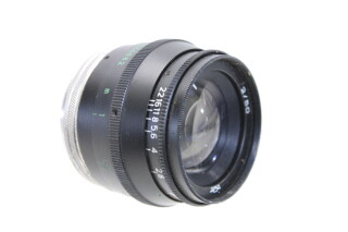 Jupiter-8 Lens Made in USSR 2/50 HEN-E3-5117 NEW