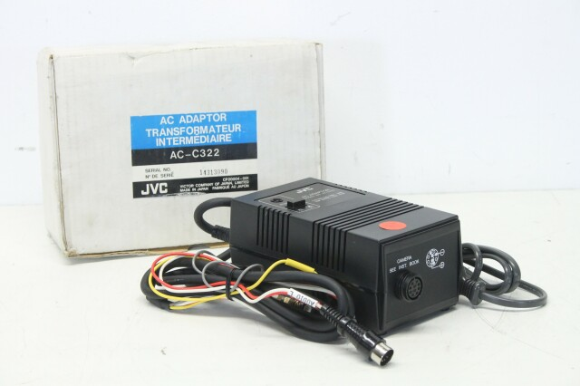 AC-C322 - AC Adaptor / Power Supply For Camera S-12251-vof