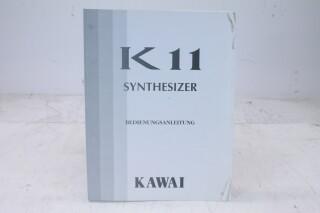 K11 Synthesizer Manual EV-F-4828 NEW