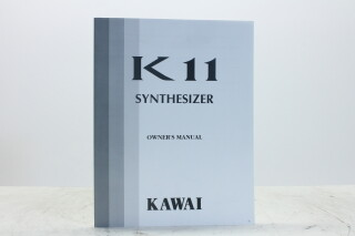 K11 Synthesizer Owners Manual andWave List EV-F-5349 NEW