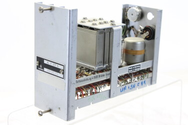 Kl. V 007 Tube Preamplifier (no.1) Siemens With E 83 CC Tube Kay-OR-2-6019 NEW