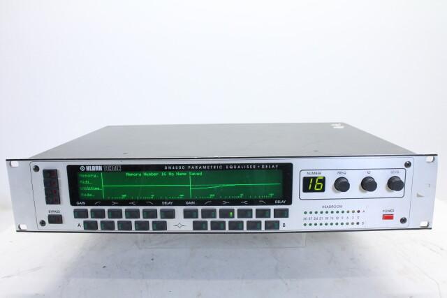DN4000 Parametric equaliser + delay GHD-RK16-4436 NEW