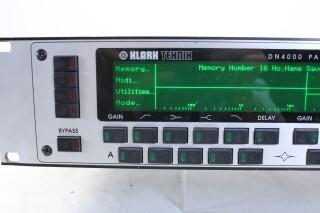 DN4000 Parametric equaliser + delay GHD-RK16-4436 NEW 4