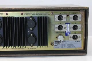 Telewatt E-120 - 100 V, 5 Channel Mono Mixing Amplifier KAY N-13627-bv 9