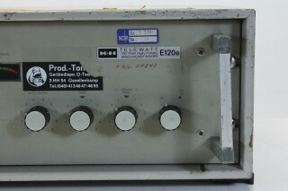 Telewatt E120e - 100 V, 5 Channel Mono Mixing Amplifier (No.3) KAY OR-14-13633-bv 3