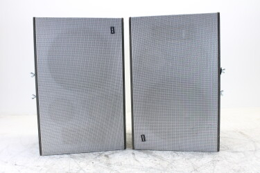 Set of 2 active OY speakers with custom built stands ELD-OR16-6496 NEW