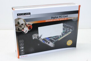 SEC-PCC10 PCI Security Card for CCTV Cameras on a PC Screen S-10365-z 9