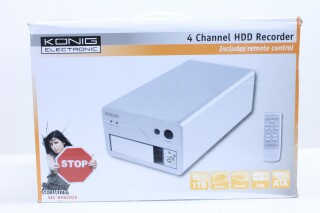 4 channel HDD Recorder with remote nr1 F-11521-BV 4