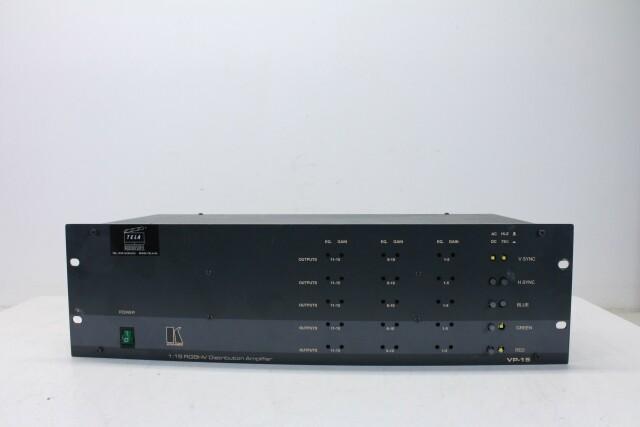 VP-15 RGBHV Distribution Amplifier HER1 ORB-3-13838-BV