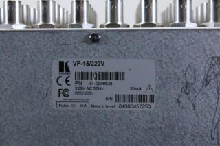 VP-15 RGBHV Distribution Amplifier HER1 ORB-3-13838-BV 6