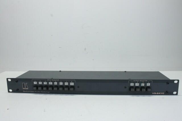 VS-84YC - 8x4 s-Video Audio Switcher HER1 RK-14-13914-BV
