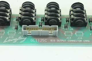 Amek/Langley GL1125C Big Output Connector Card/PCB (No.2) VL-L-9105-x 8