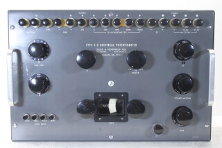 Type k-3 Universal Potentiometer Catalog No. 7553-5 HEN-OR-14-4558 NEW
