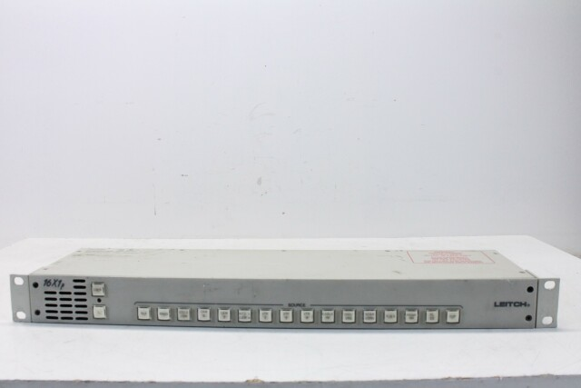 16X1P Routing Switcher HER1 ORB1-13802-BV