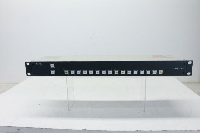 16x1p Video Switcher (No.3) HER- RK-14-13842-BV