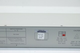 16x1p Video Switcher (No. 6) HER1 RK-15-13948-BV 9